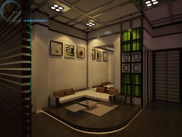 thiet ke 5 - Thiết kế spa theo phong cách Nhật