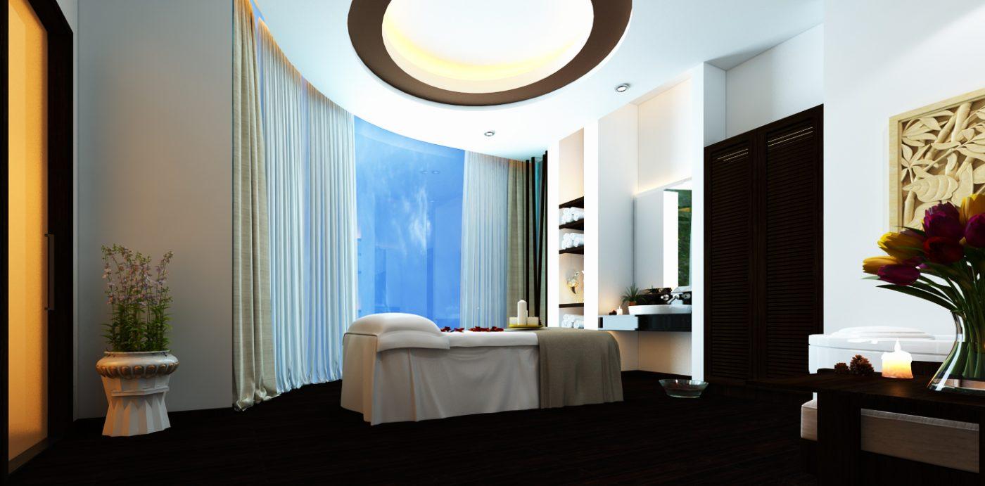 Phong massage Vip dac biet tang 5 view 02 1400x691 - Thiết kế Massage Valentine tại Q5. Spa dành cho Nam