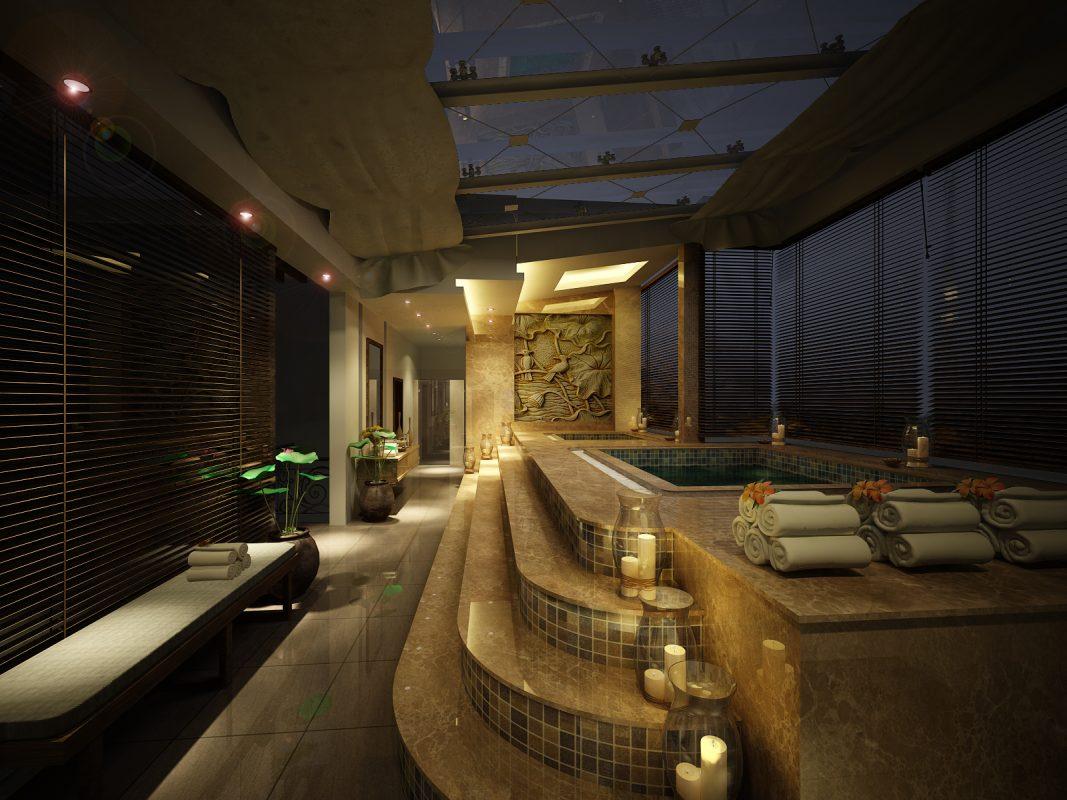 khu jacuzzi view 2 1067x800 - Thiết kế Massage Valentine tại Q5. Spa dành cho Nam