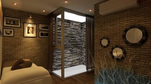 2 - Thiết kế spa tại nhà sang trọng, hiện đại