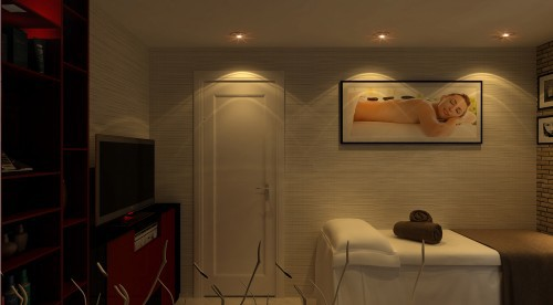 3 - Thiết kế spa tại nhà sang trọng, hiện đại
