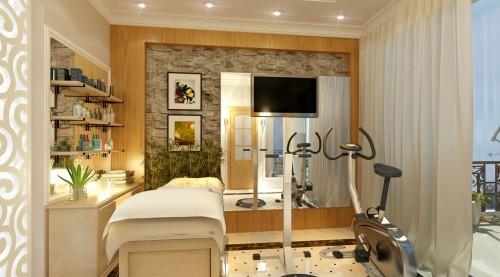 4 - Thiết kế spa tại nhà sang trọng, hiện đại