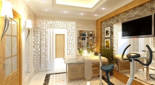 5 - Thiết kế spa tại nhà sang trọng, hiện đại