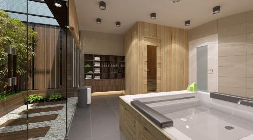 6 - Thiết kế spa tại nhà sang trọng, hiện đại