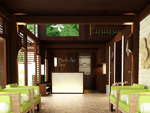 1 1 - Thiết kế spa Bình An Spa tại Bình Dương phong cách Nhật
