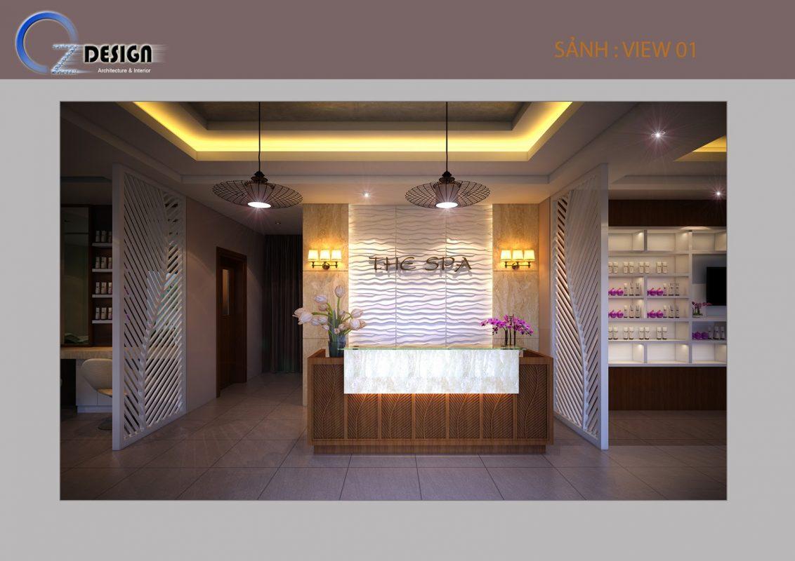 1 3 1132x800 - Thiết kế spa Tây Ninh phong cách tân cổ điển