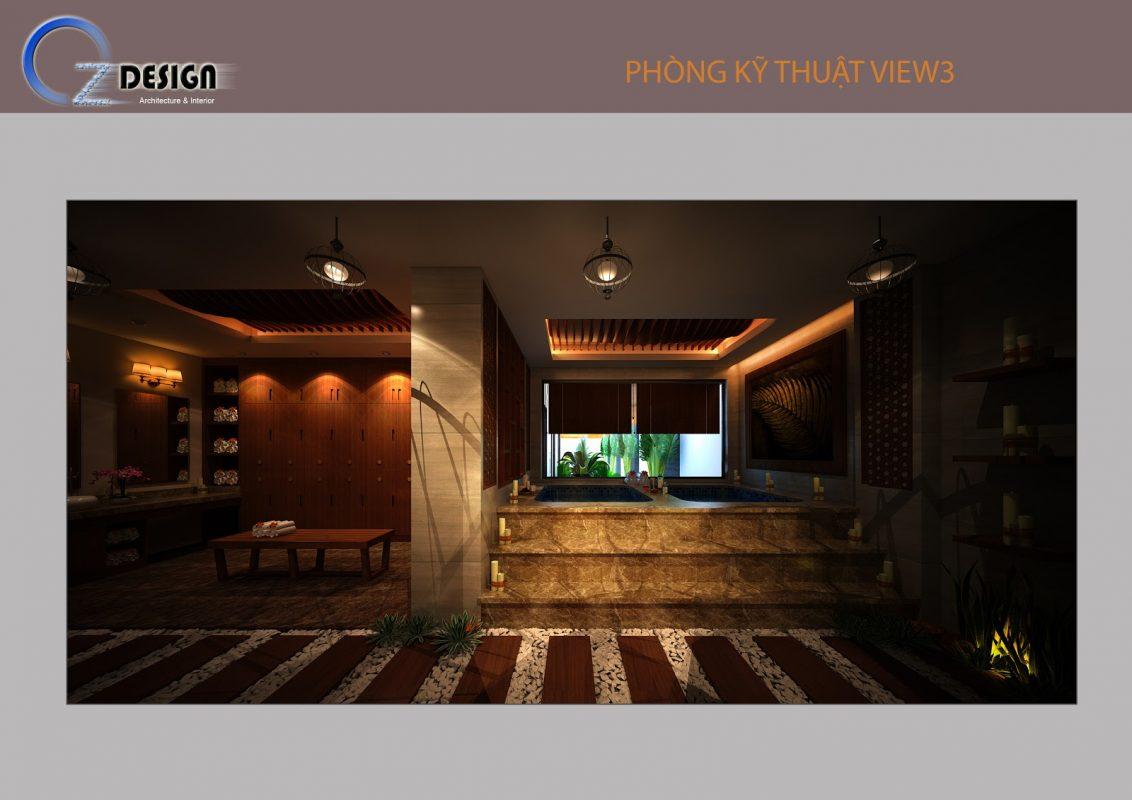 12 1132x800 - Thiết kế spa Tây Ninh phong cách tân cổ điển