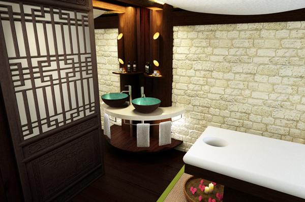4 1 - Thiết kế spa Bình An Spa tại Bình Dương phong cách Nhật
