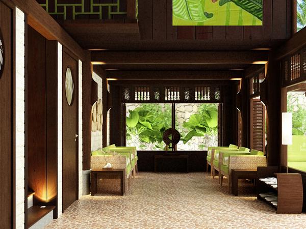 6 - Thiết kế spa Bình An Spa tại Bình Dương phong cách Nhật