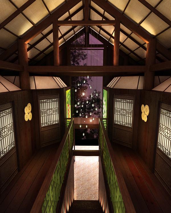 7 1 - Thiết kế spa Bình An Spa tại Bình Dương phong cách Nhật