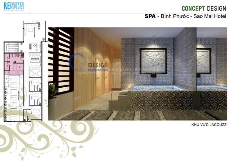 7 - Thiết kế spa - Massage Sao Mai tại Bình Phước