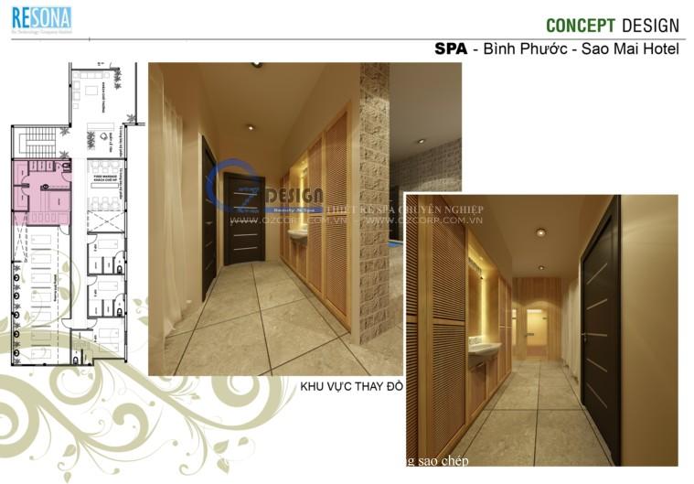 sao mai spa 5 - Thiết kế spa - Massage Sao Mai tại Bình Phước