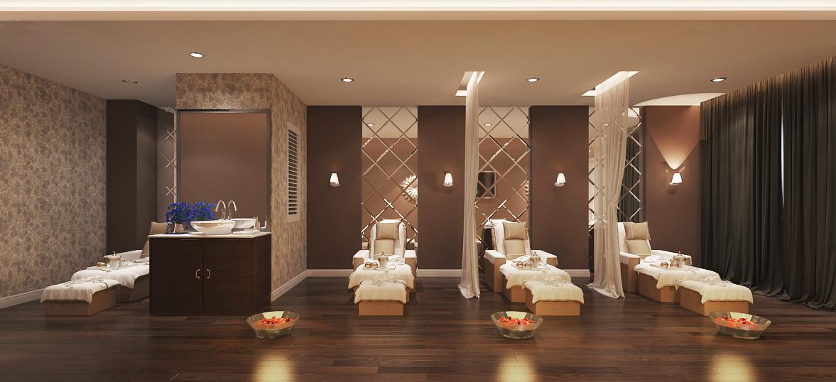 phong body and foot view2 - Ghế foot massage trong thiết kế spa