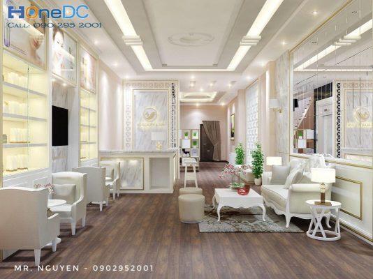 thiet ke spa nd beauty go vap 8 1067x800 1 534x400 - Thiết kế Spa đẹp - Chuyên thi công Spa trọn gói