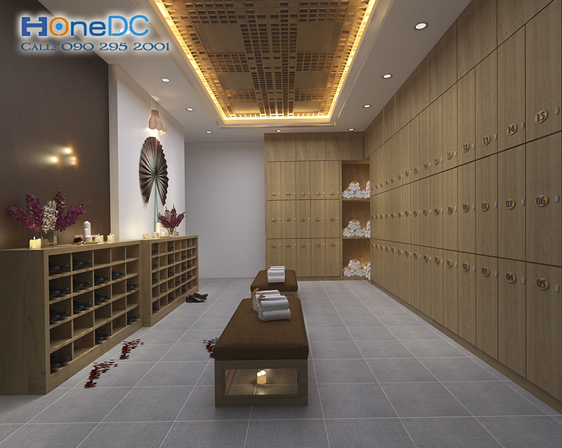thiet ke massage khoe 03 - Thiết kế phòng Massage VIP đúng chuẩn