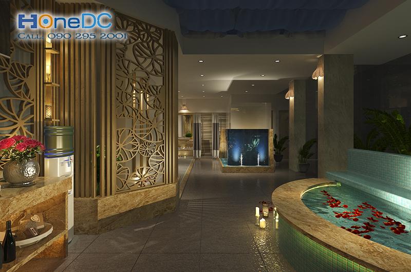 thiet ke massage khoe05 - Thiết kế phòng Massage VIP đúng chuẩn